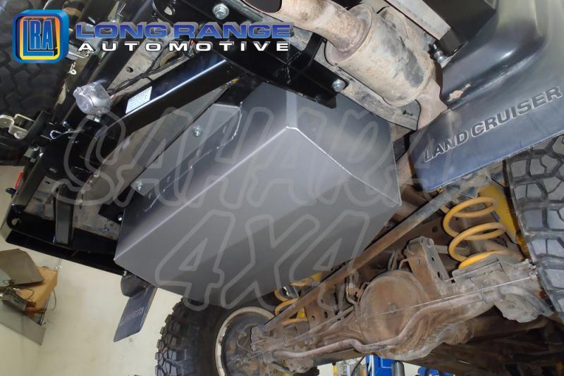 Depósito auxiliar, 160L, Toyota HDJ80