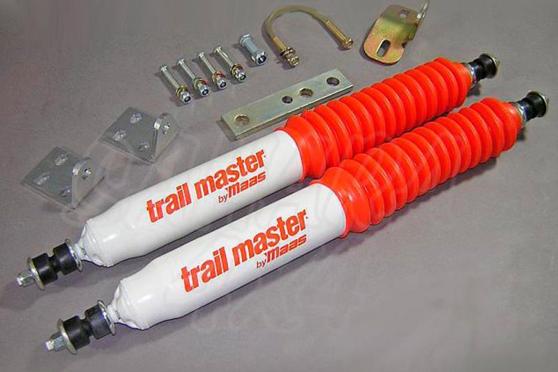 Kit de doble amortiguador dirección Trail Master  - Amortiguador super reforzado.