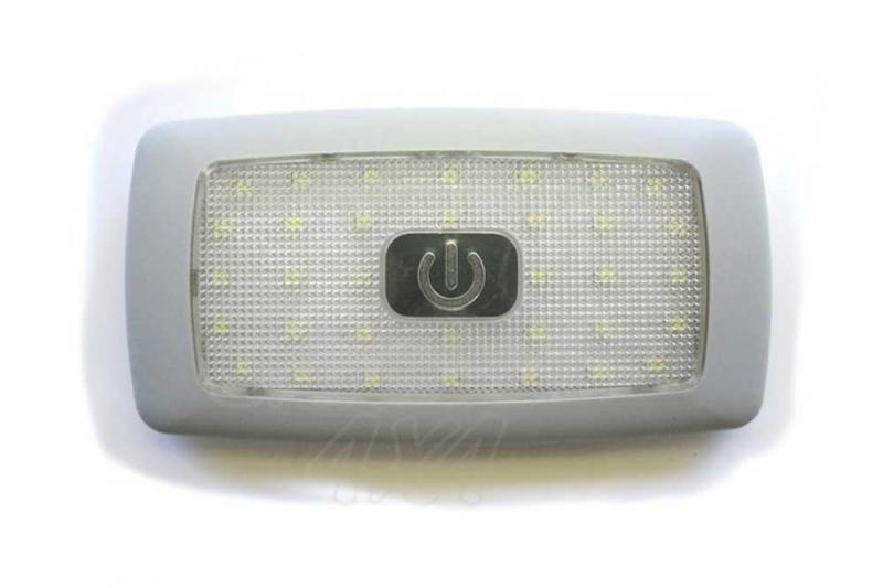 Luz Interior 34 LED 12v con interruptor - Plafon de LED 12v con interruptor On/OFF