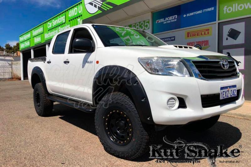 Aletines +50mm para Toyota Hilux Vigo (2012-2015)