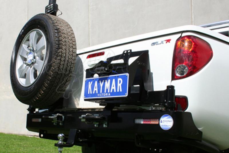 Parachoques Trasero Kaymar L-200 desde 06 Caja Corta - Configurar el paragolpes.