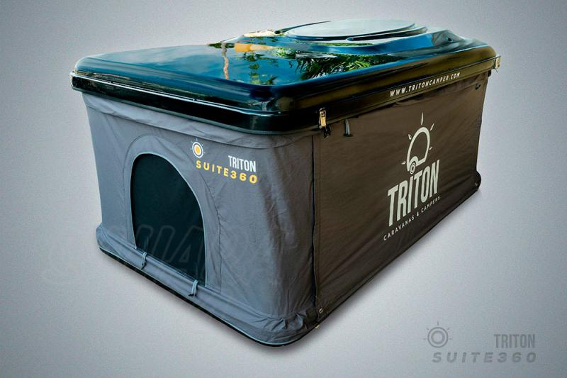 Tienda de techo Triton Suite 360 Negra