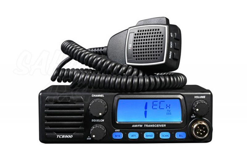 Emisora 27 mhz AM/FM TTI TCB-900 - Emisora 12/24 voltios