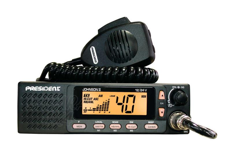 Emisora President Johson II ASC 40 Cx AM/FM Multi Normes