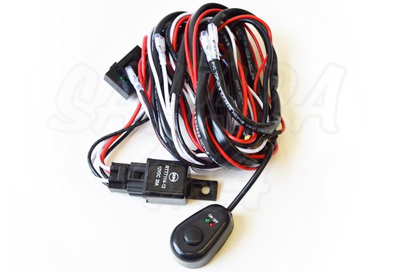 Kit instalación de faros auxiliares con interruptor