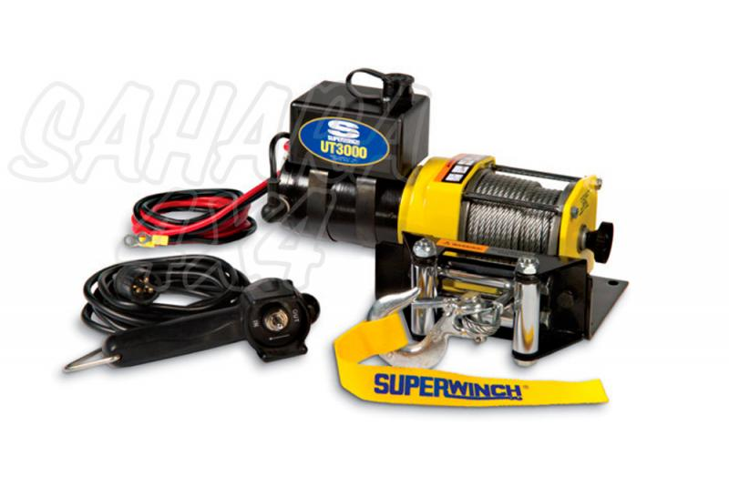 Superwinch UT3000  1361 Kg  - Cabrestante electrico a 12v.