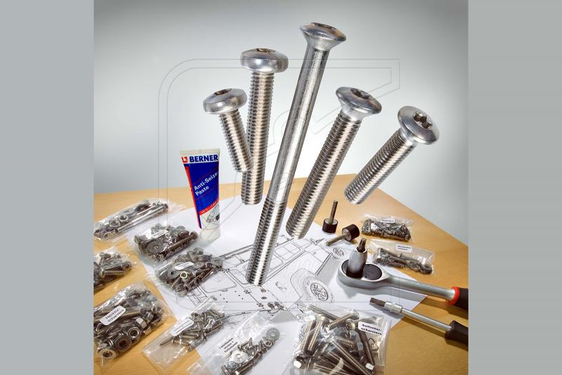 Kit de tornillos de acero inoxidable para Land Rover Defender