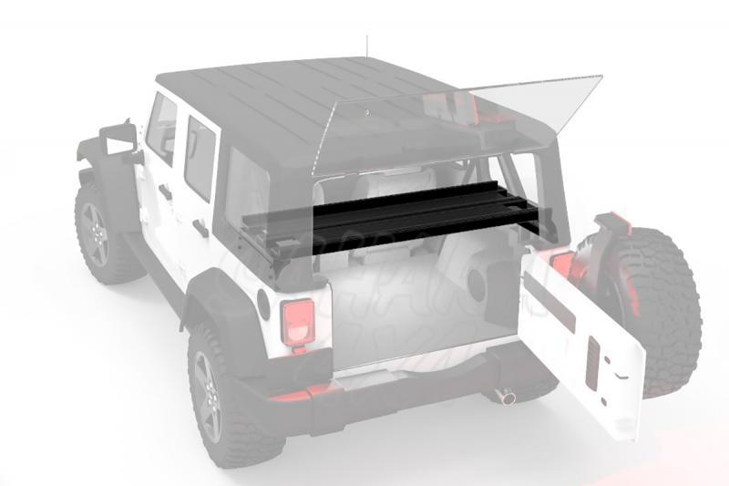 Baca Interior de Carga para Jeep Wrangler JK Unlimited 5p