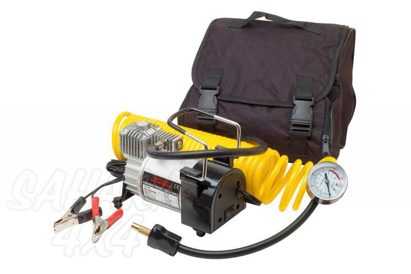 Compresor Volcano 12v 45l/min 150 Psi - Compresor portatil listo para usar