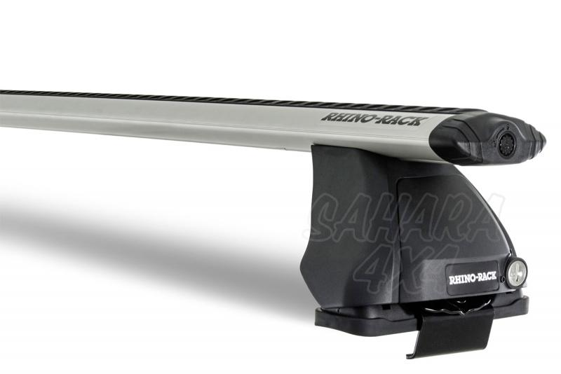 Barras Rhino Rack Vortex 2500 para Ford Ranger (2011-) - Kit de barras para marco puerta, carga máxima 50Kg (por barra)