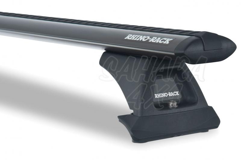 Barras Rhino Rack Vortex RLCP para Honda CR-V (2001-2007) - Kit de barras para anclaje de fábrica, carga máxima 75Kg (por barra)