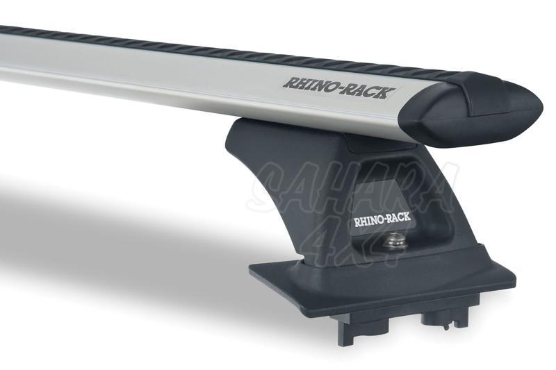 Barras Rhino Rack Vortex RLCP para Honda CR-V (2007-2012) - Kit de barras para anclaje de fábrica, carga máxima 75Kg (por barra)