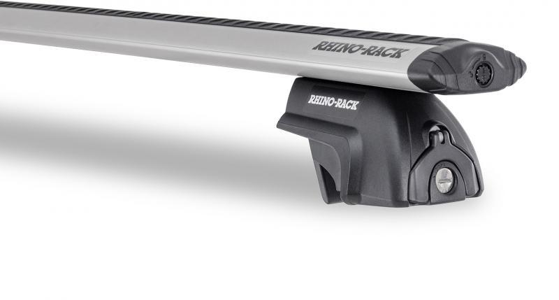 Barras Rhino Rack Vortex SX para Mitsubishi Outlander (2012-) - Kit de barras para Railing, carga máxima 50Kg (por barra)
