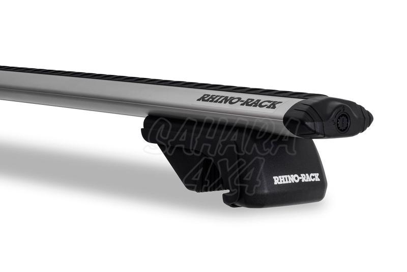 Barras Rhino Rack Vortex SX para Bmw X5 (2000-2007) - Kit de barras para Railing, carga máxima 80Kg (por barra)