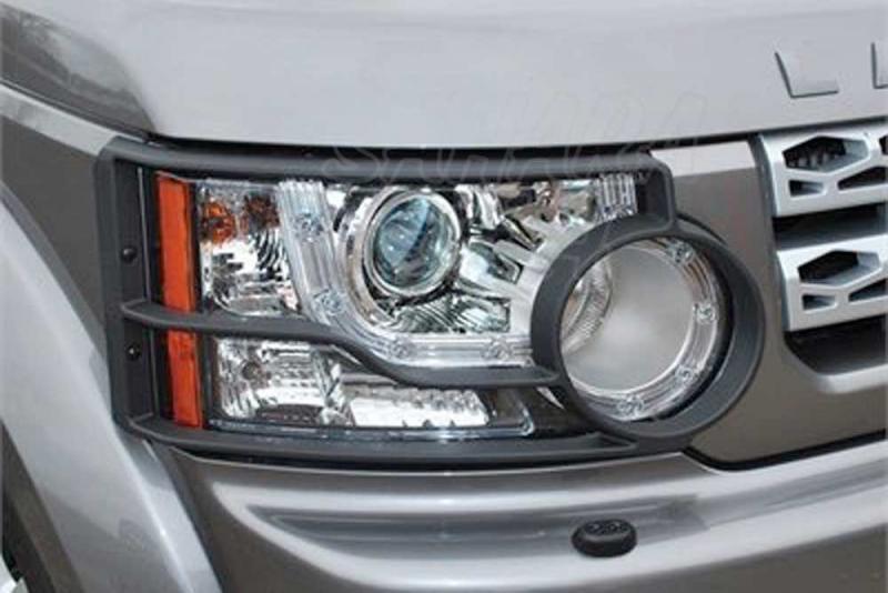 Protectores de faros delanteros en plastico Land Rover Discovery IV - Pareja ,