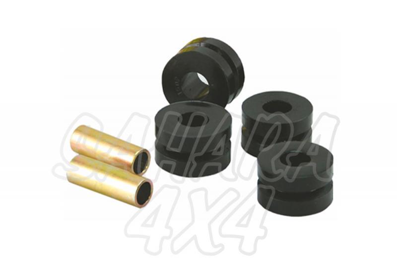 Nº08 Casquillos Poliurethano Nolathane Trapecio Delantero Inferior Trasero - Kit de 4 Casquillos. Tubo 62mm largo