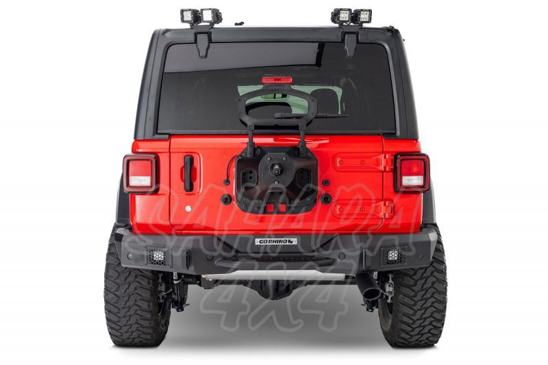 Paragolpes trasero Rockline Go Rhino para Jeep Wrangler JL -