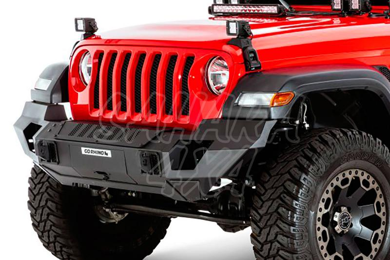 Paragolpes delantero Trailline GO Rhino para Jeep Wrangler JL