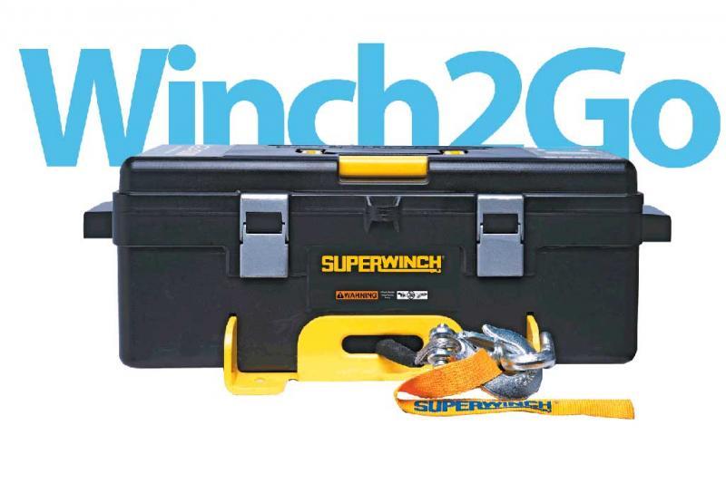 Superwinch WINCH2GO 4000 lbs/12V (cable de acero)