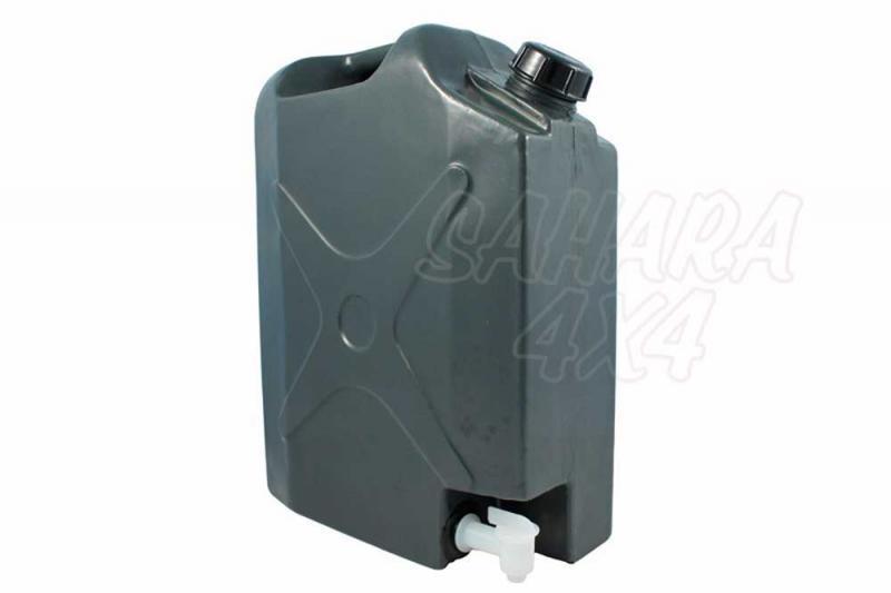 Bidon plastico 20 lt Front Runner con grifo - Solo valido para agua.