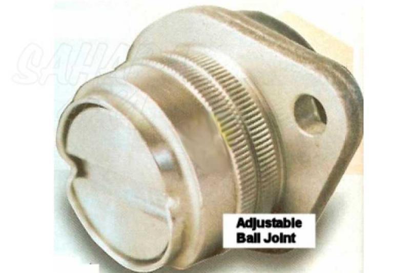 X-Ball Rotula extra +5º para triangulo trasero - Para Land Rover Defender, Disco 1 & RR Classic