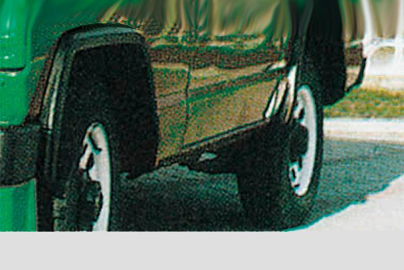 Juego de aletines en ABS versión estrecha (4 Piezas) para Nissan Patrol 260 (3 y 5puertas) 1982-1998 - Valido para Patrol 260 1982-1998