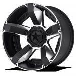Llanta de aluminio 9x18 ET10 5x127/5x139.7 XD811 Rockstar II Black/Silver Dodge Ram 1500 - Unidad