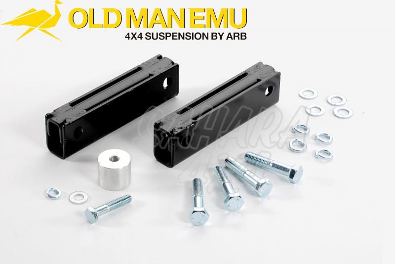 Kit Gear Box nivelación caja transfer Cherokee XJ - Recomendado en Elevaciones de 6cm a 10cm.