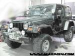 Soporte de cabrestante sobre paragolpes origen Jeep Wrangler YJ/TJ - Valido para MOD. YJ-92 / MOD.TJ-97 (especificar modelo)